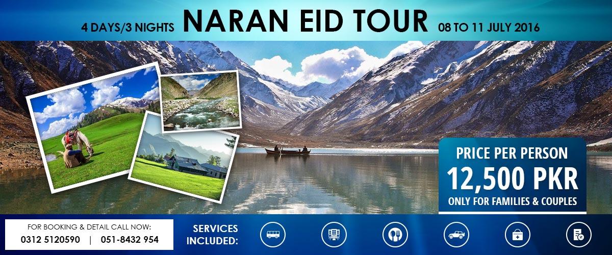 Eid Tour Naran Shogran 2016