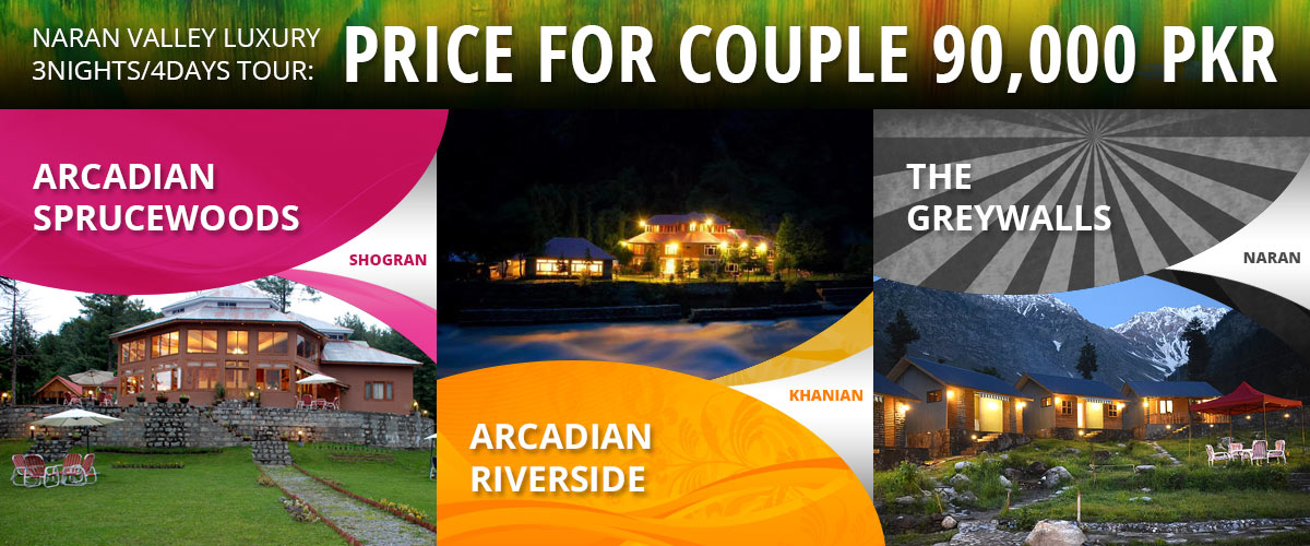 Naran Shogran Luxury Couple Tour packages