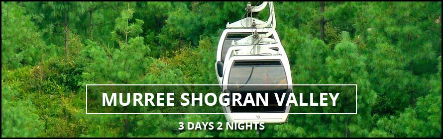 Murree Shogran Valley 3Days 2Nights Tour Packages plans