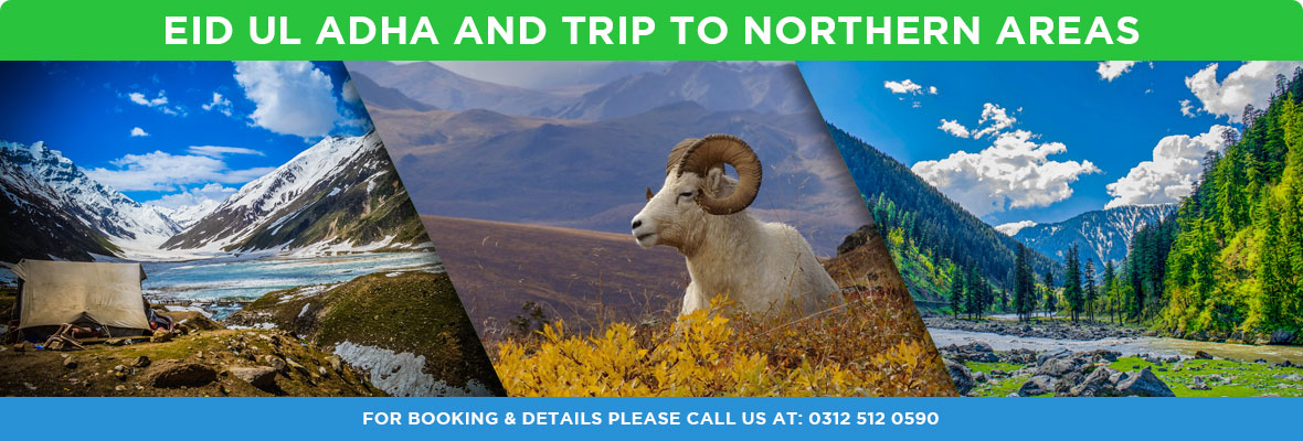 Eid ul Adha and trip to Northern Areas Tour Packages