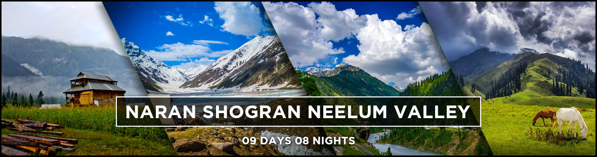 Naran Shogran Neelum Valley 09Days Tour Packages for Couples