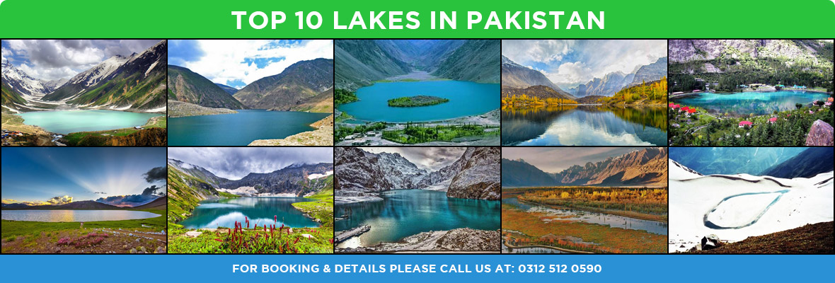 Top 10 lakes in Northern Areas of Pakistan Tours