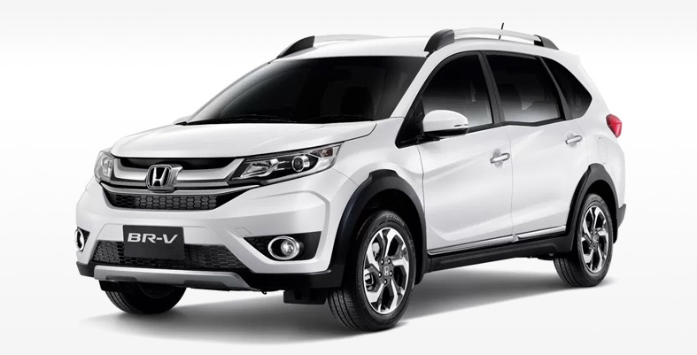 HONDA BRV 2018 Front-View Islamabad on Rental