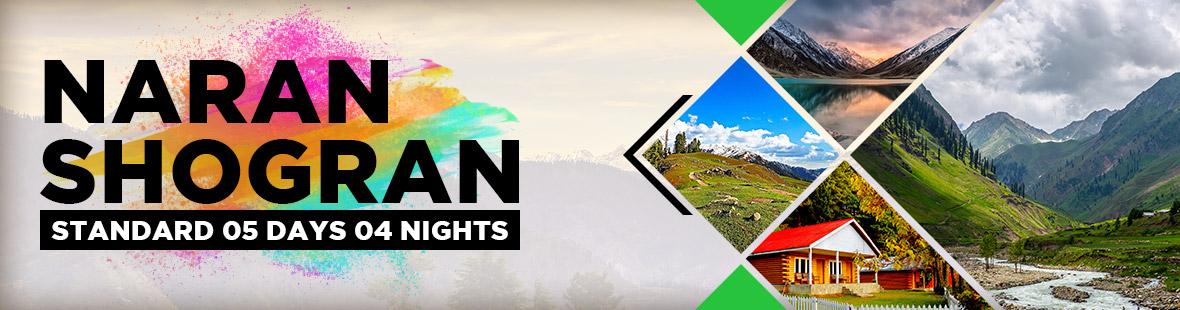 Naran kaghan Shogran 2018 Standard Class