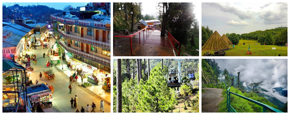 Top 10 places of Murree