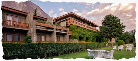 Gilgit Valley Serena Hotel in Karakoram Tour