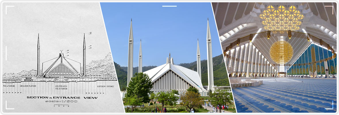 Shah Faisal Masjid Islamabad--Most-Famous-Attraction-in-Islamabad-Banner