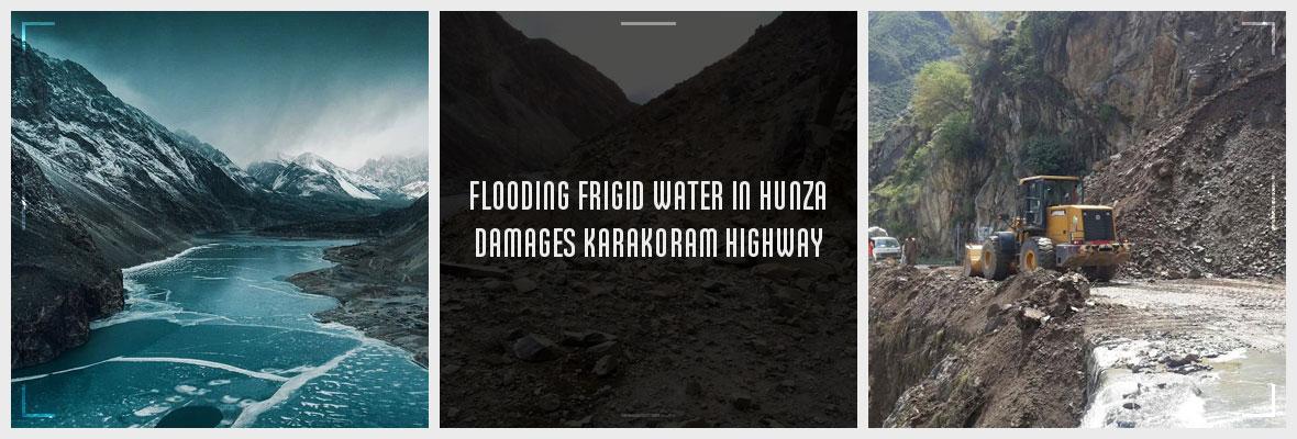 Flooding-Frigid-Water-in-Hunza-Damages-Karakoram-Highway