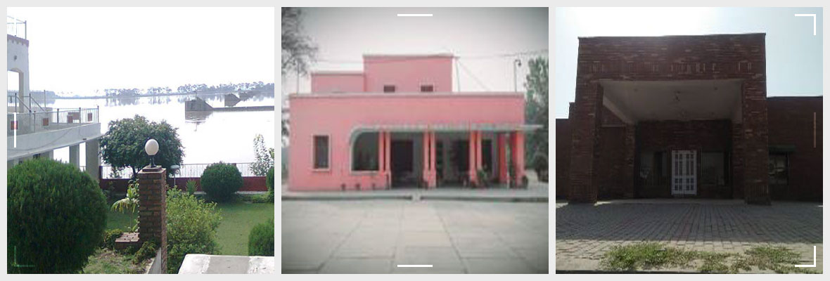 List Of Canal Rest Houses, Punjab Irrigation Department