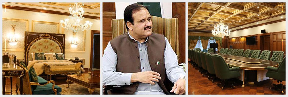Punjab-Chief-Minister-Sardar-Usman-Buzdar-Opens-Governor-House-Murree-For-Tourists