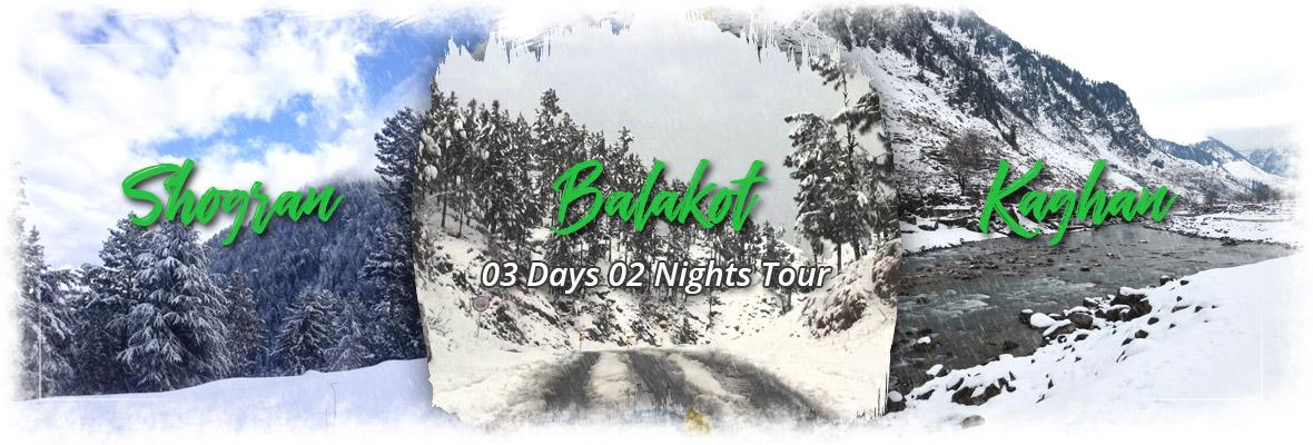 Shogran Kaghan Balakot Honeymoon Tour