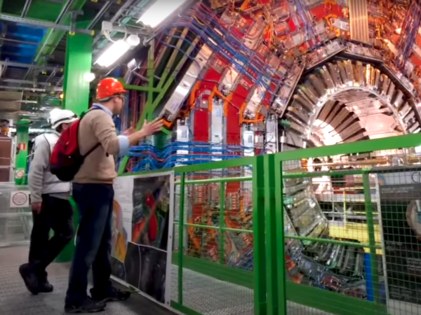 Andrew Vanden Heuvel at CERN's Large Hadron Collider