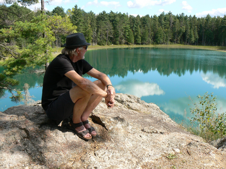 McGinnis Lake, Petroglyphs Provincial Park