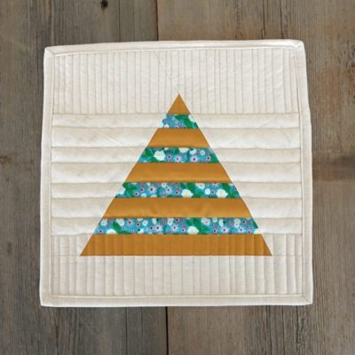 Triangle in a Square {Tutorial}