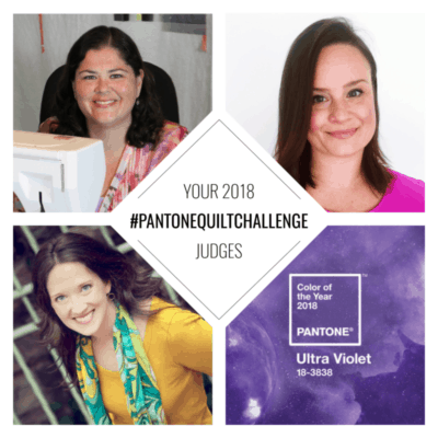 Pantone Quilt Challenge 2018 Linky Party