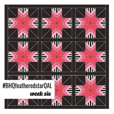 Feathered Star Quilt Along {Week 6 – Quilt Top Assembly}