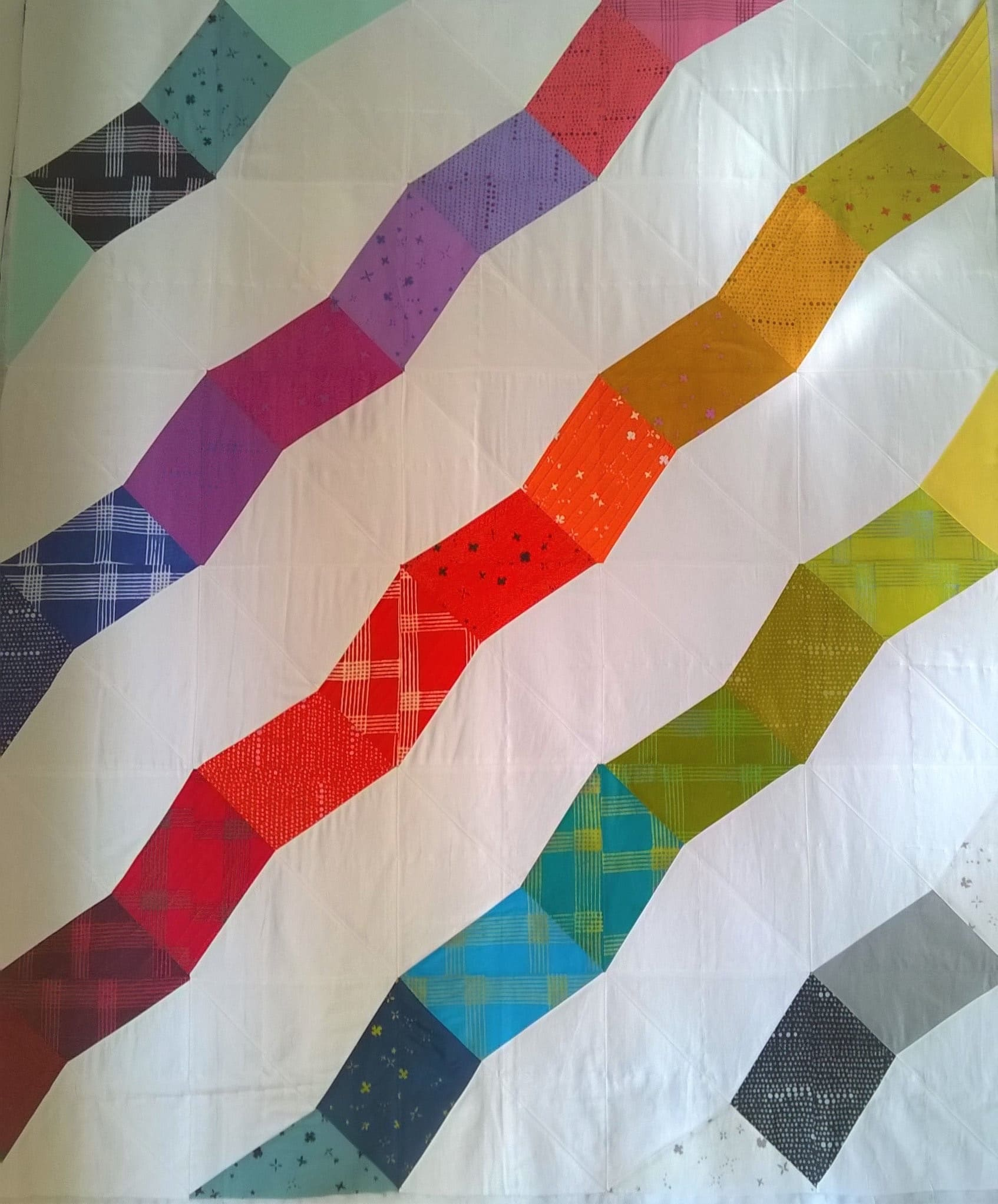 Rainbow Quilts in Italy