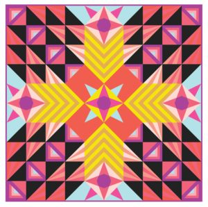 Stargazer BOM Quilt Pattern, Rebecca Bryan