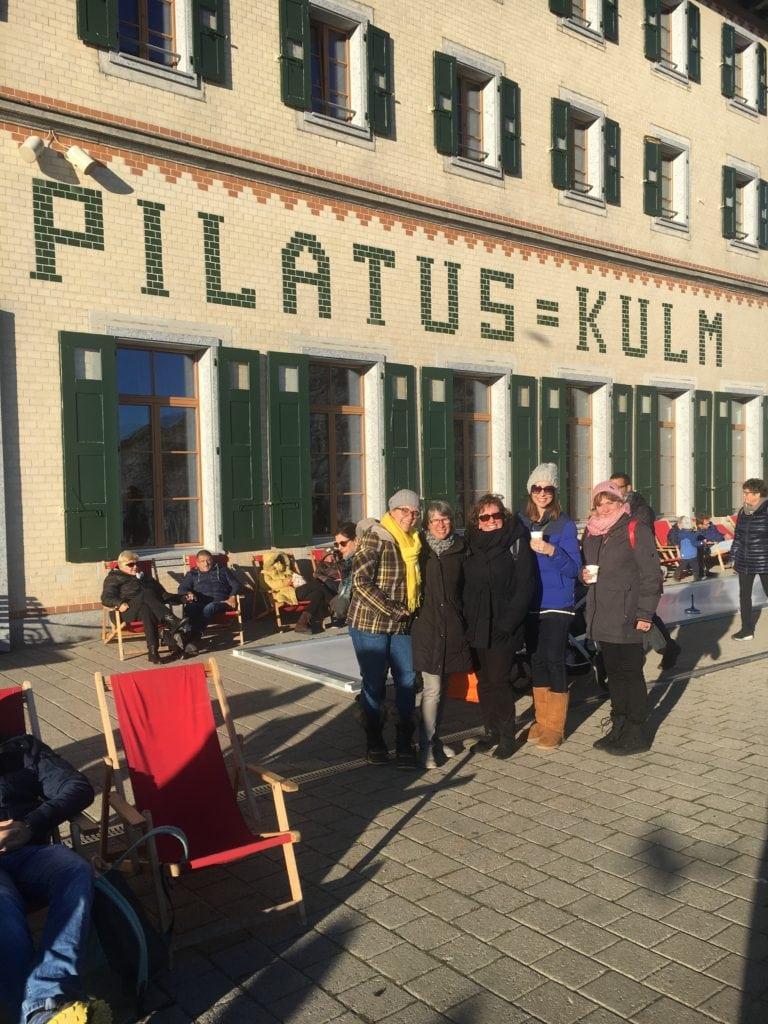 American Quilt Teacher in Switzerland, Pilatus