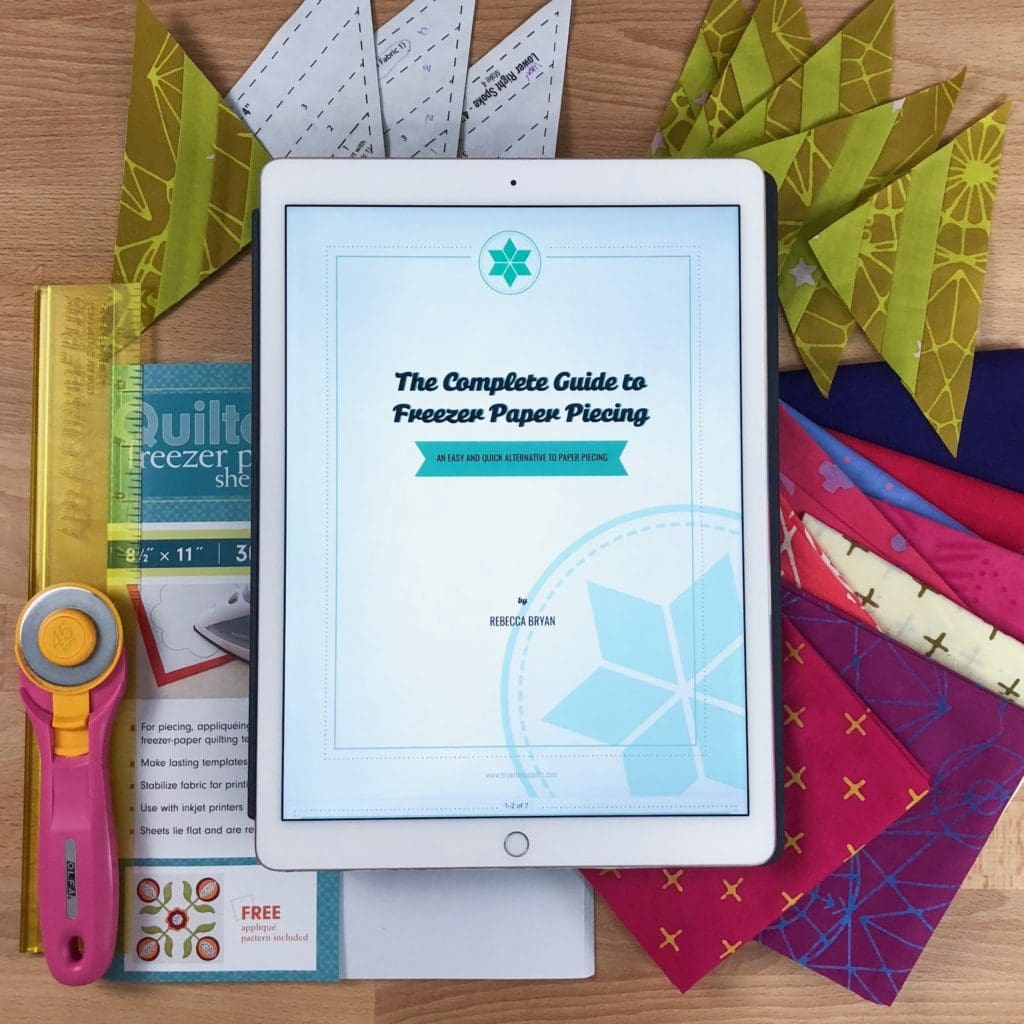 Free Guide to Freezer Paper Piecing