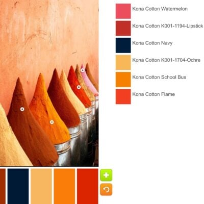 Color Palettes: Start With a Favorite Fabric