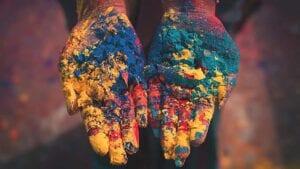 Colors for Holi festival
