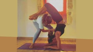 Yoga Sutra Studio - KRISTINA KARITINOS IRELAND - adjustment
