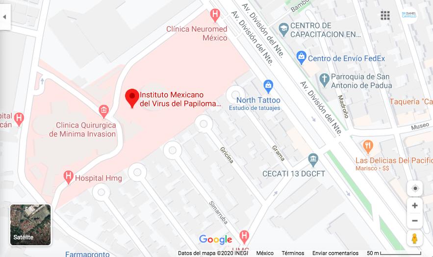 Nos encontramos dentro del Hospital HMG Coyoacán en el consultorio 505. Sobre división del norte 3395