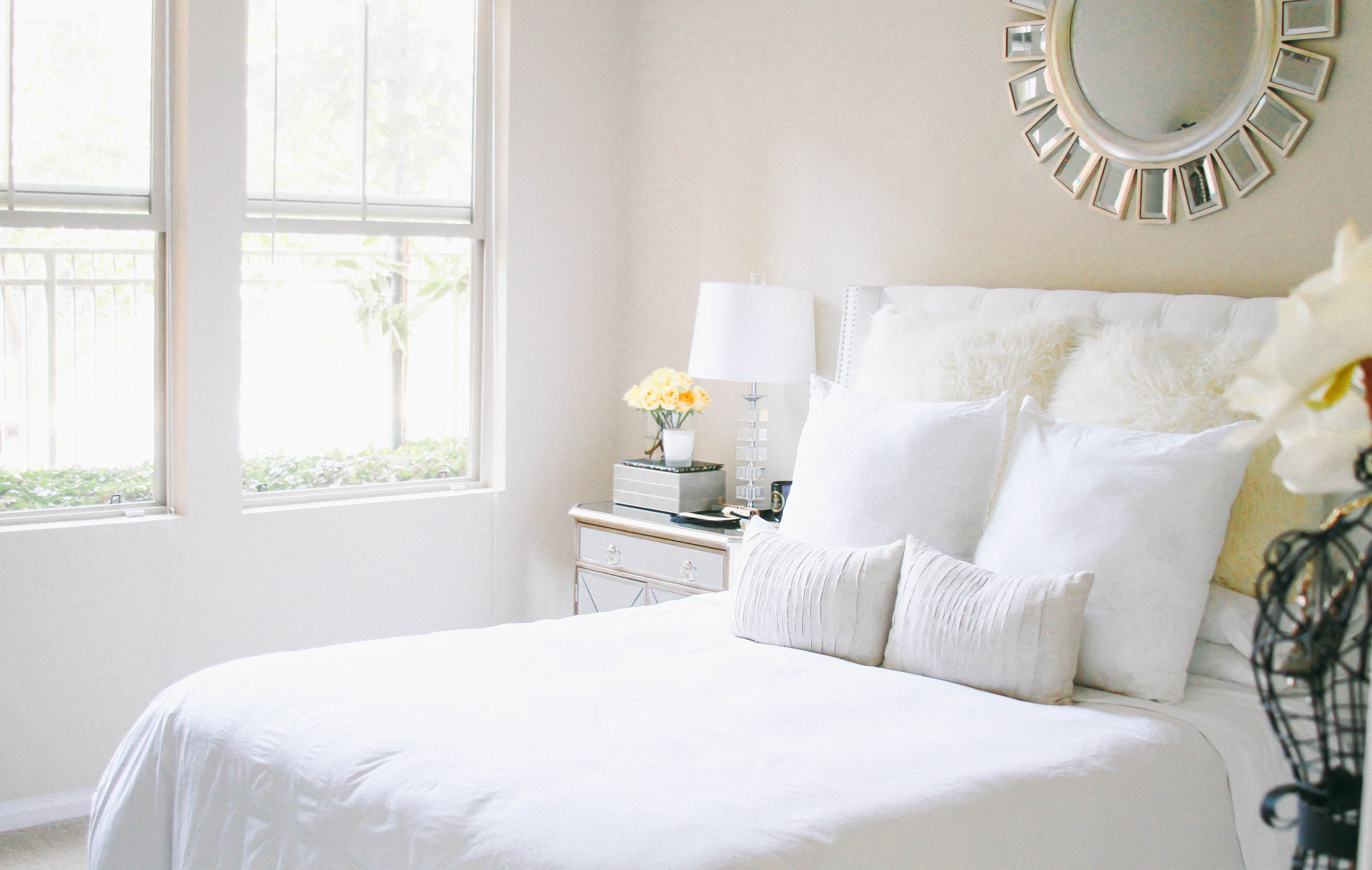 Style At Home // Bedroom Update   BondGirlGlam.com