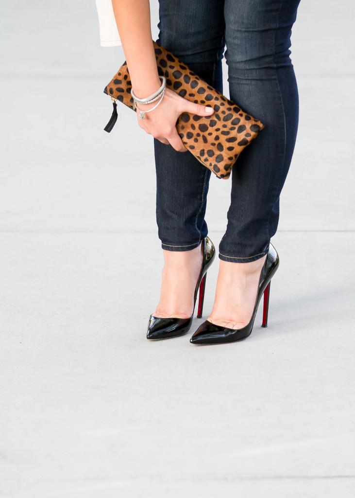 #BumpStyle // Leopard, Leather, & Stripes   BondGirlGlam.com