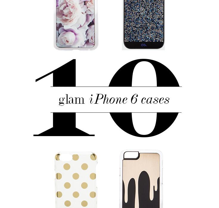 10 Glam iPhone 6 Cases   BondGirlGlam.com