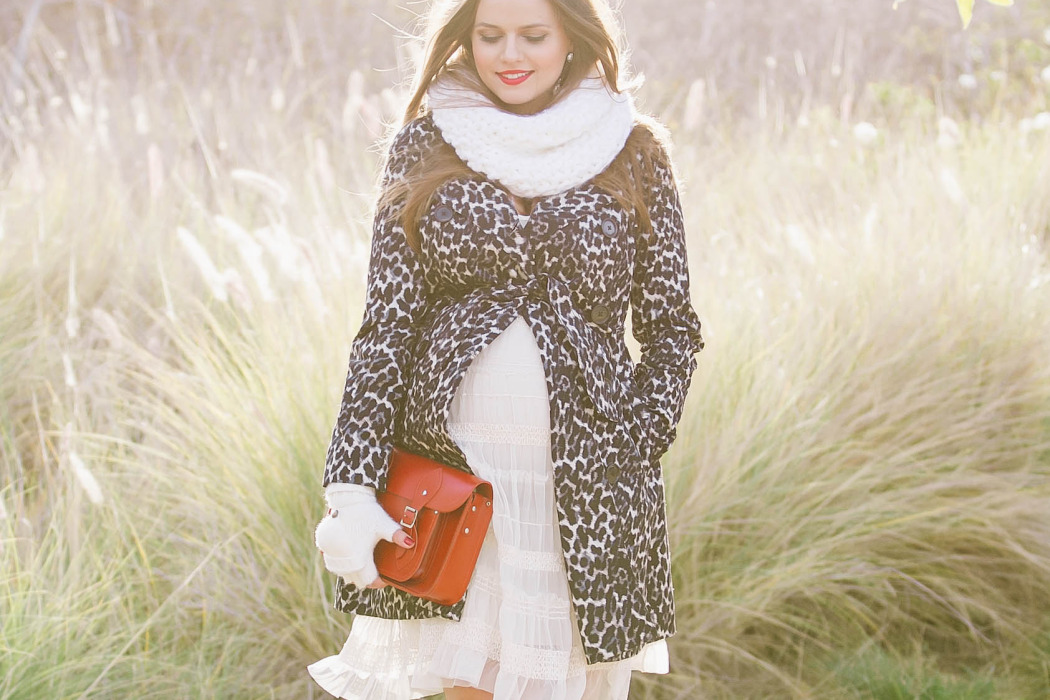 #BumpStyle // Leopard Print Trench Coat & Suede Boots | BondGirlGlam.com