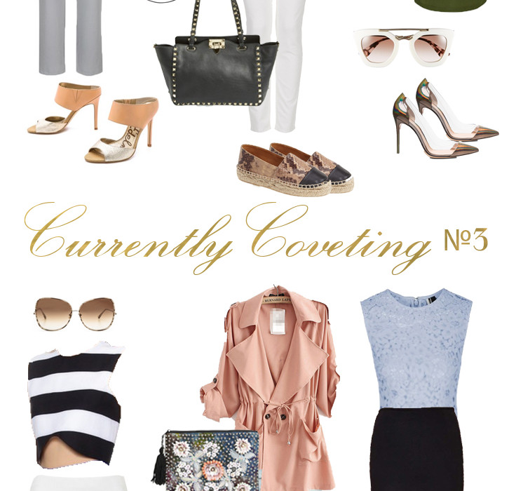Currently Coveting №3 // 6 Spring Outfits   BondGirlGlam.com