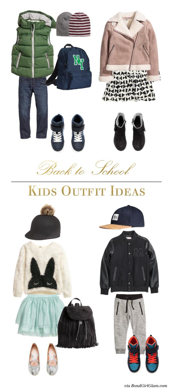 Back to School Kids Fashion | BondGirlGlam.com