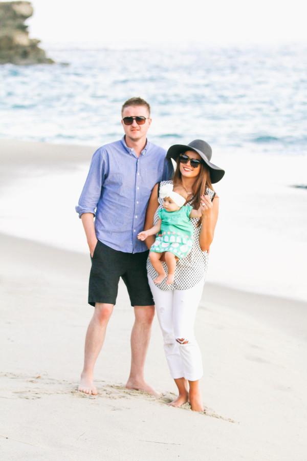 Family #OOTD // Laguna Beach Sunset   BondGirlGlam.com