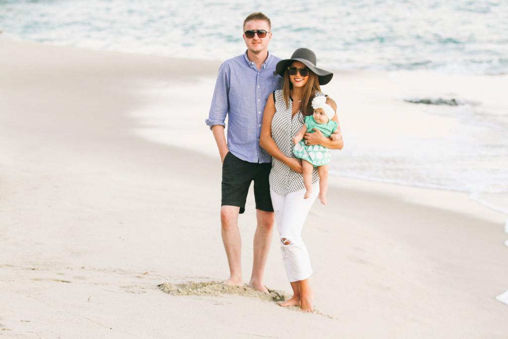 Family #OOTD // Laguna Beach Sunset | BondGirlGlam.com