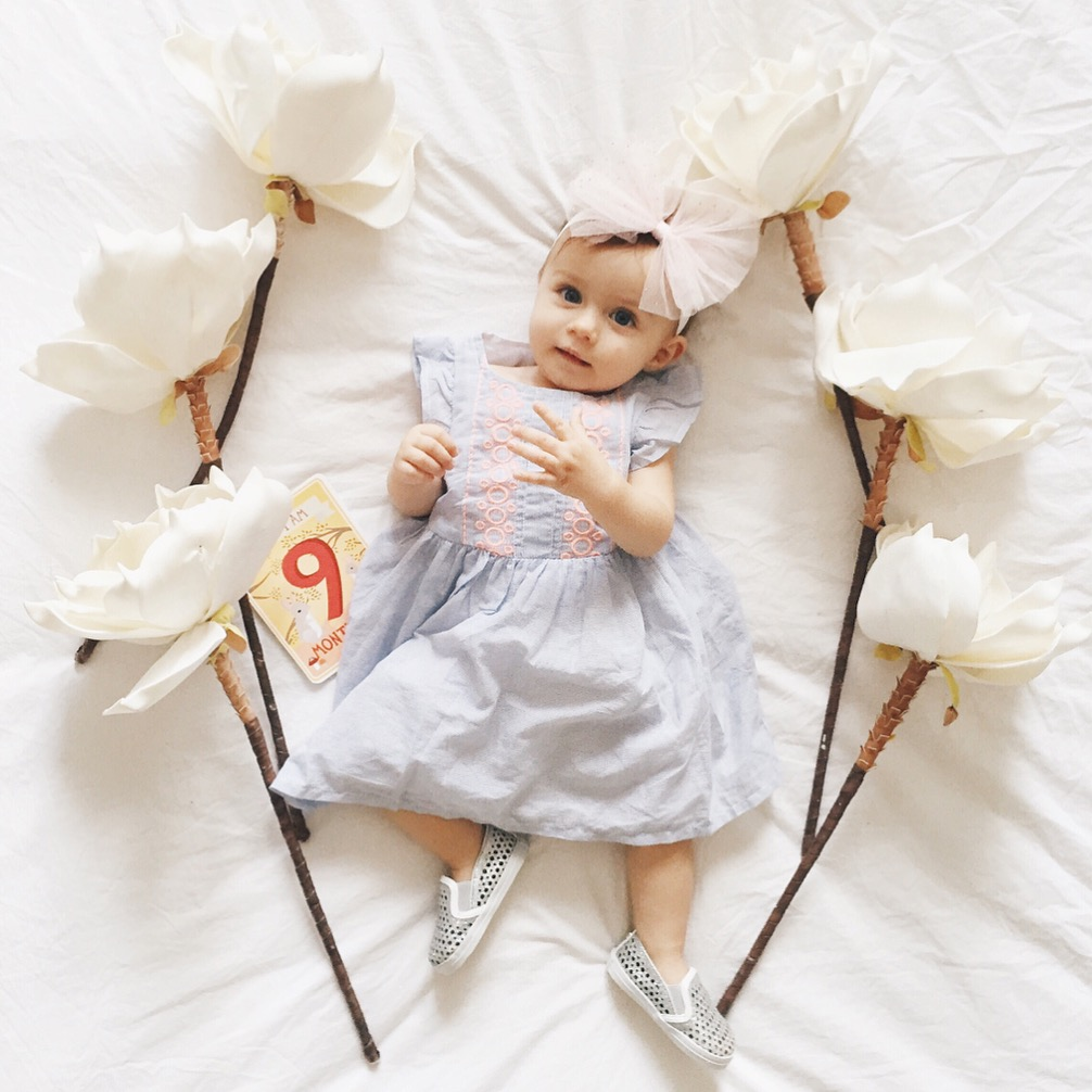 9-Month Baby Update & Favorites | BondGirlGlam.com