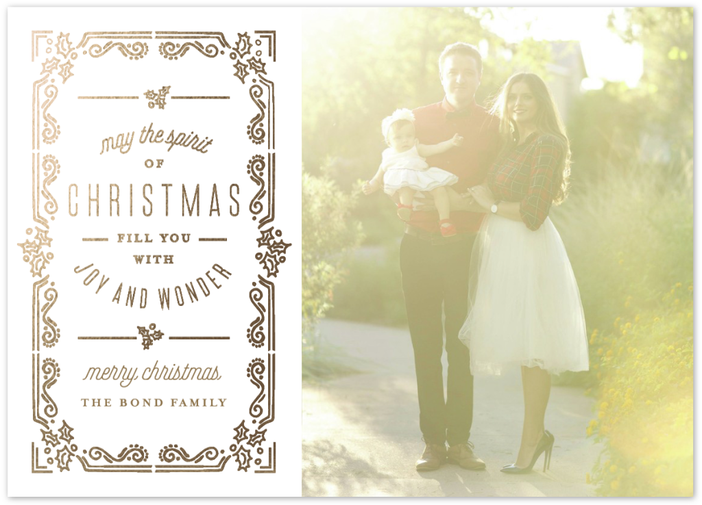 Christmas Card Shoot 2015 | BondGirlGlam.com