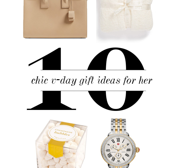 10 Chic Valentine's Day Gifts Ideas for Her | BondGirlGlam.com