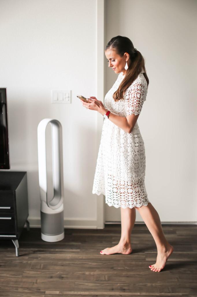 Dyson Pure Cool Link Air Purifier | BondGirlGlam.com