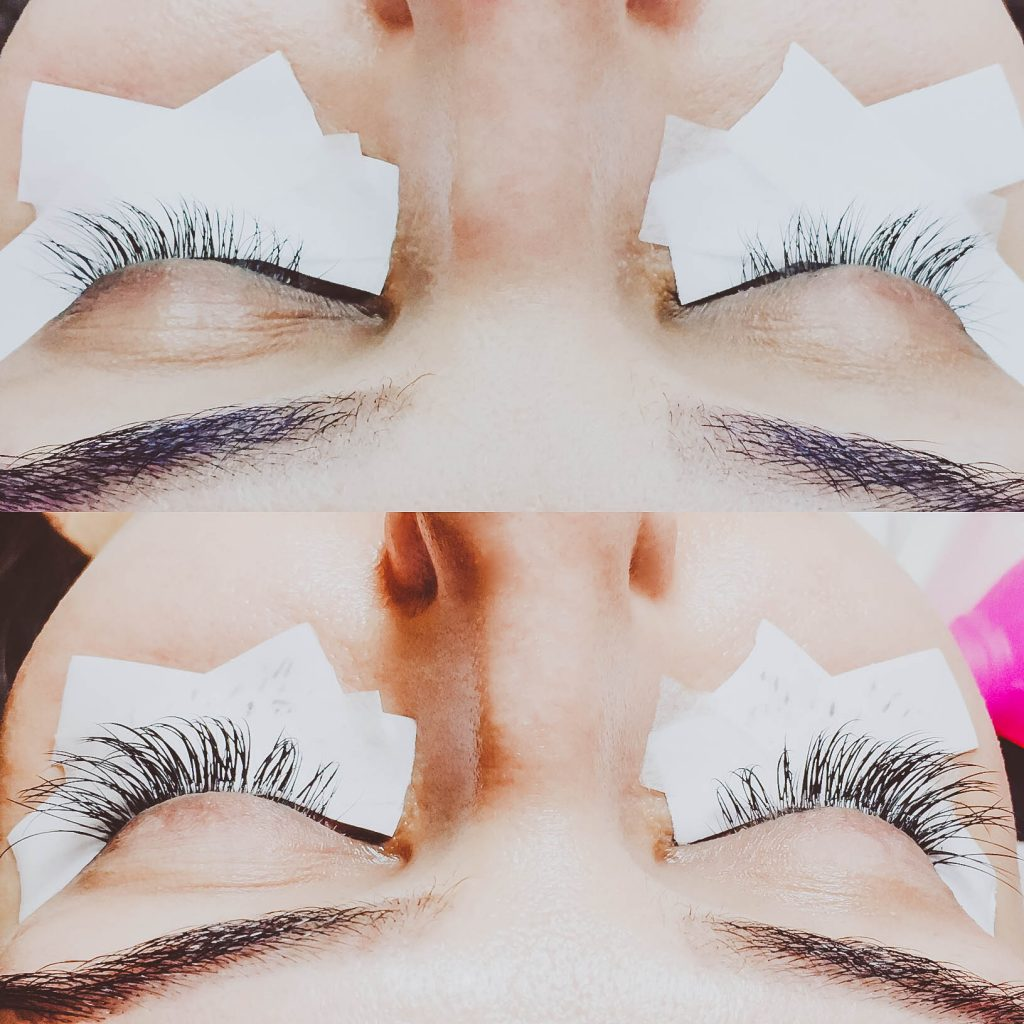 lash extension review, lash extensions, eyelash extensions, faux mink lashes, before and after lash extensions
