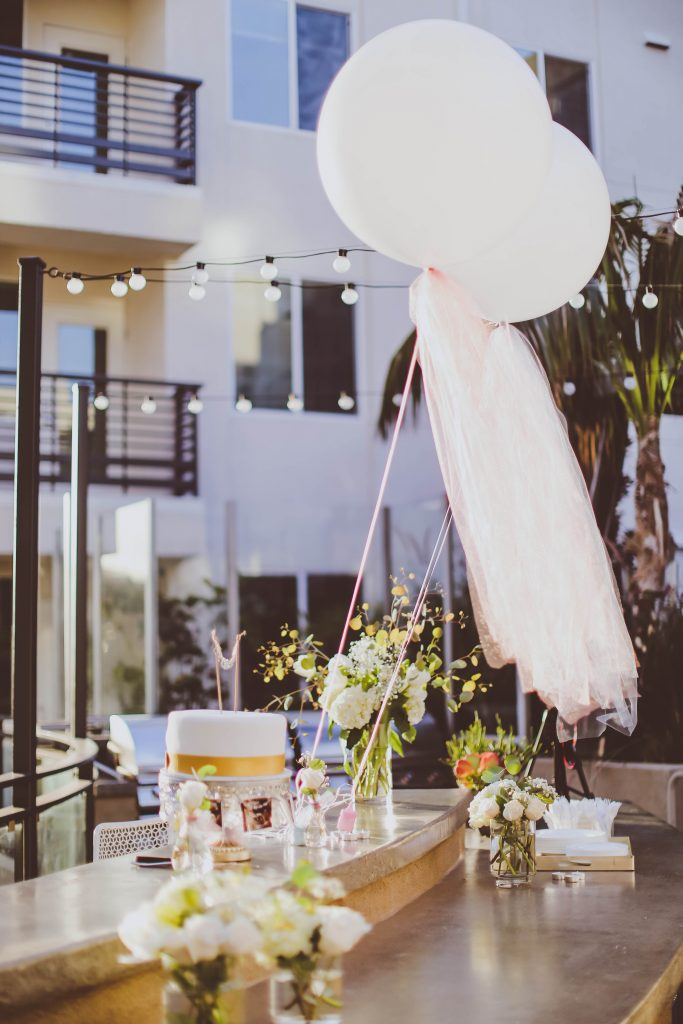 Our Gender Reveal Party | BondGirlGlam.com