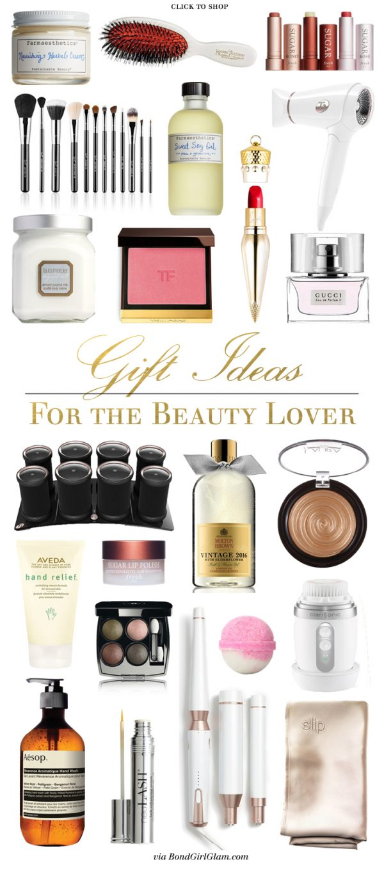 Gift Ideas for the Beauty Lover | BondGirlGlam.com