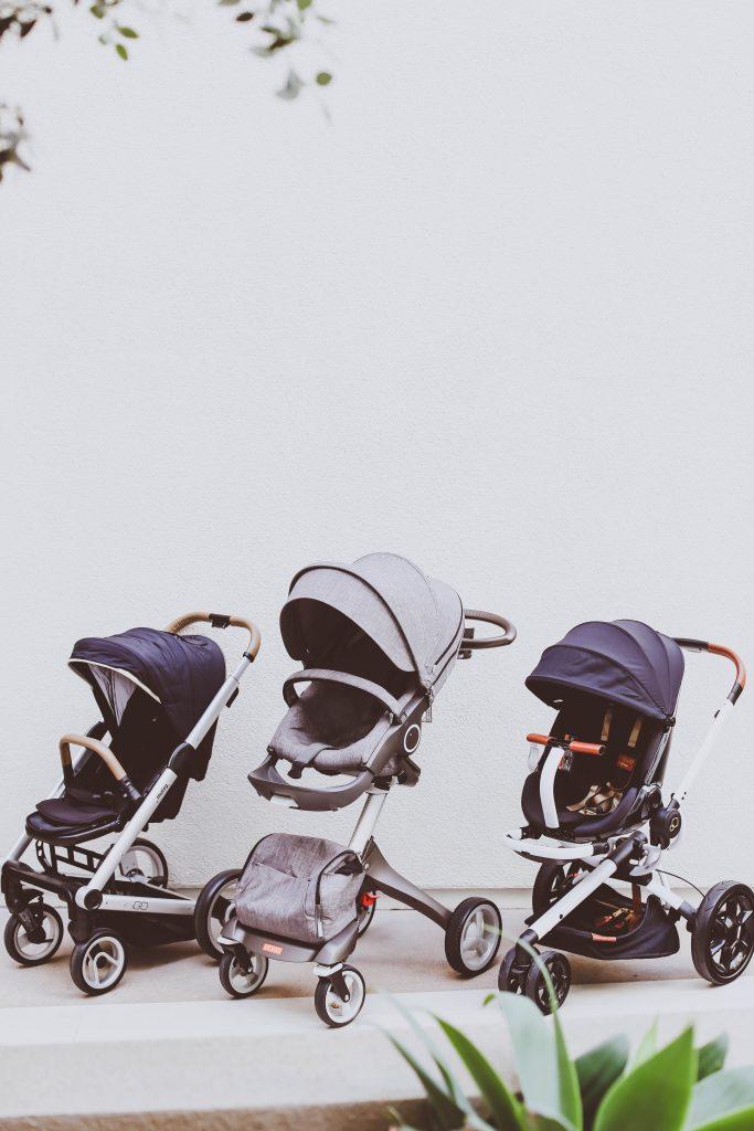 Single Stroller Comparison // Stokke Xplory vs. Quinny Moodd vs. Mutsy Igo | BondGirlGlam.com