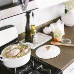 Easy Whole-Chicken Noodle Soup in a Dutch Oven | BondGirlGlam.com