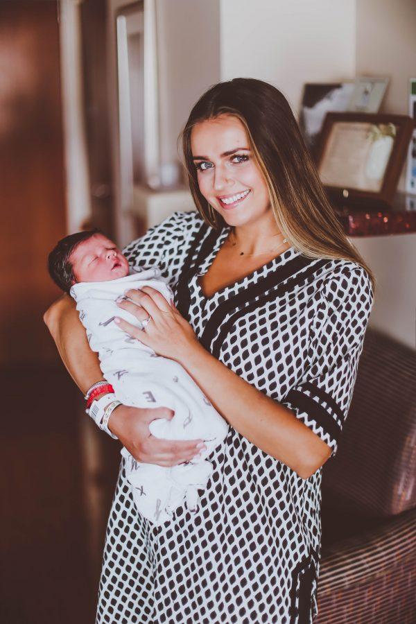 My VBAC Birth Story | BondGirlGlam.com
