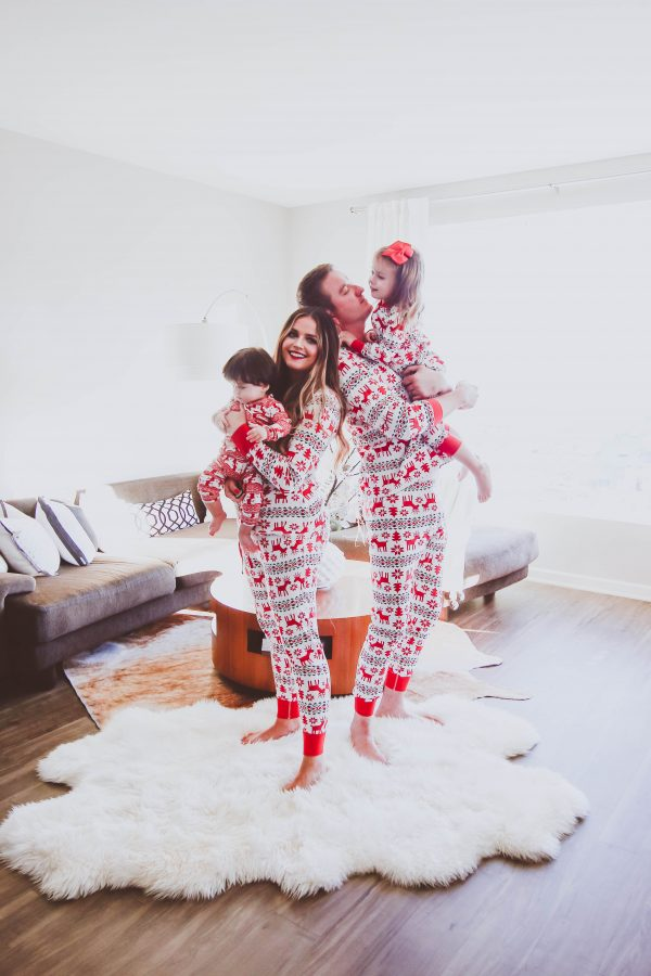 The Best Matching Family Christmas Pajamas | BondGirlGlam.com