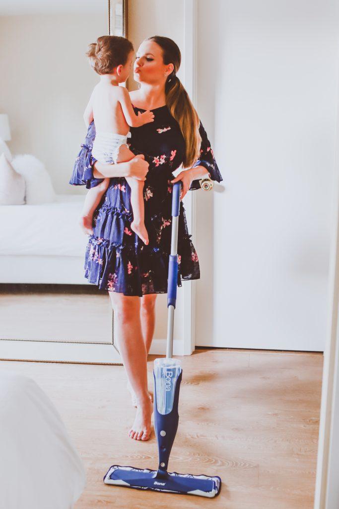 Hardwood Floor Cleaning Tips | BondGirlGlam.com