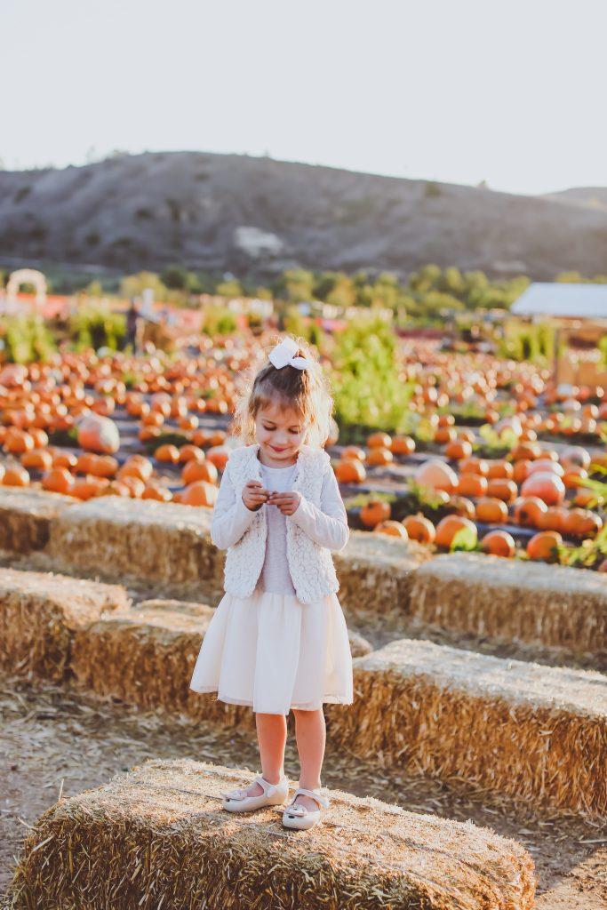 Our Pumpkin Patch Tradition | BondGirlGlam.com