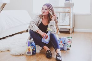 Spring Cleaning with Febreze